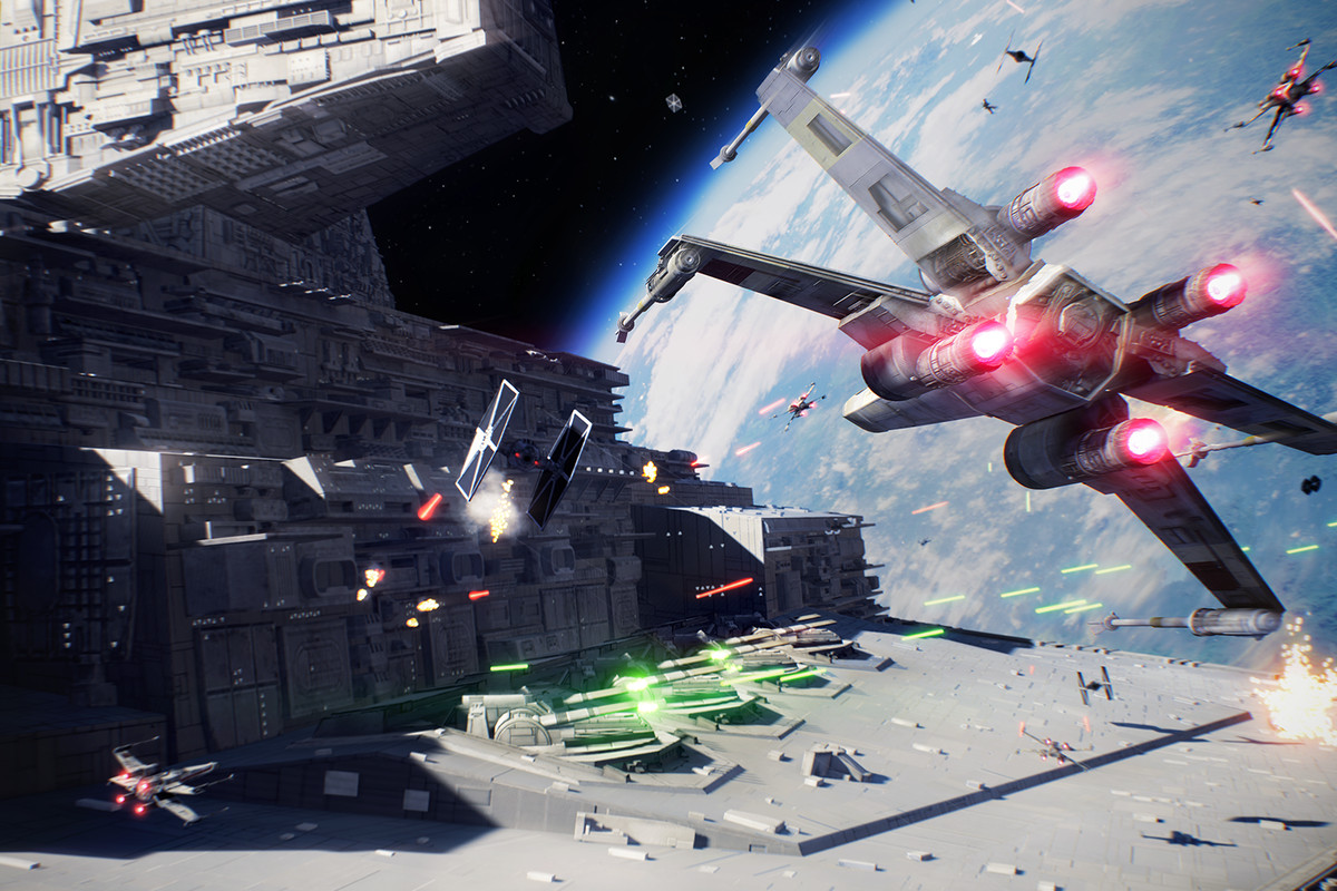Star Wars Battlefront 2's starfighters have been completely