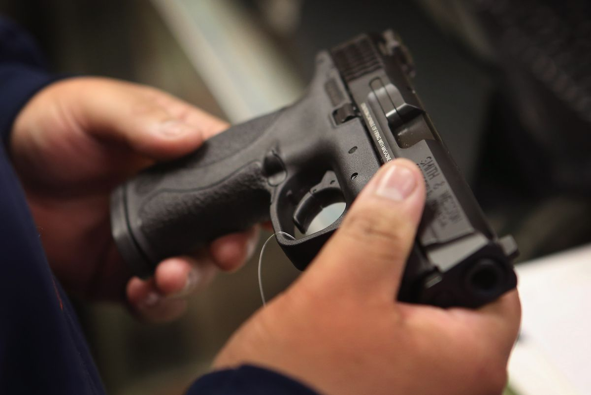 Almost 74% of guns used in New York crimes come from states