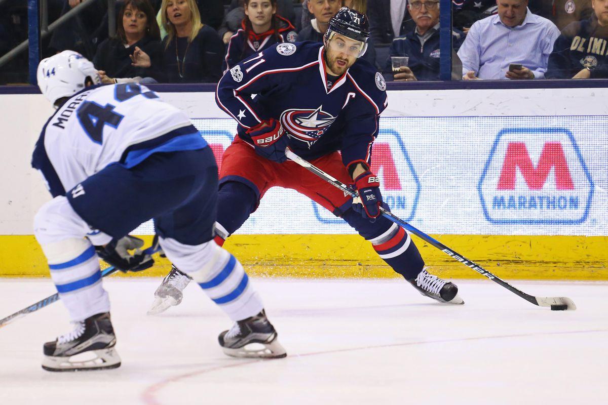 NHL: Winnipeg Jets at Columbus Blue Jackets