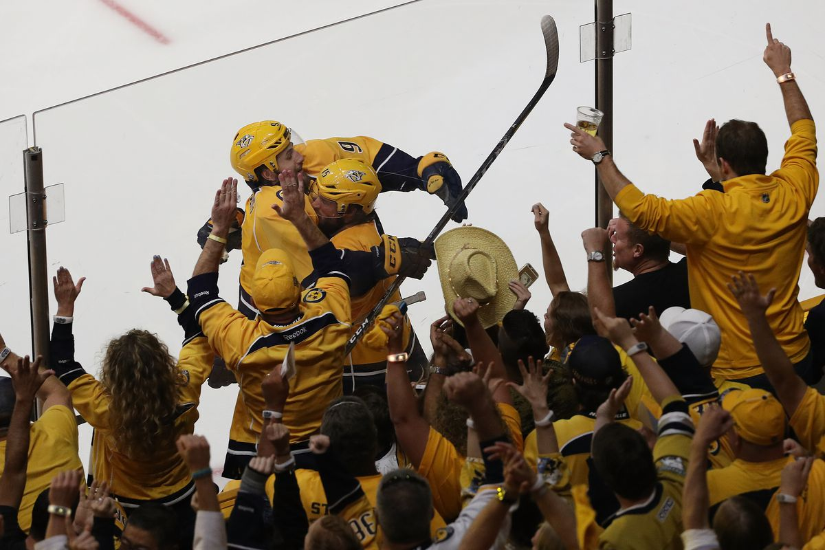 Nashville helps Preds' celebrate history with 1st Cup Final