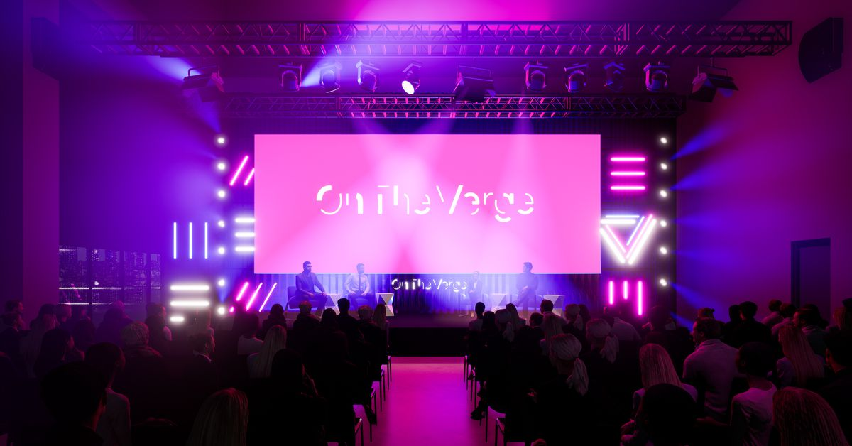 On The Verge is happening October 22 and 23, and you're invited