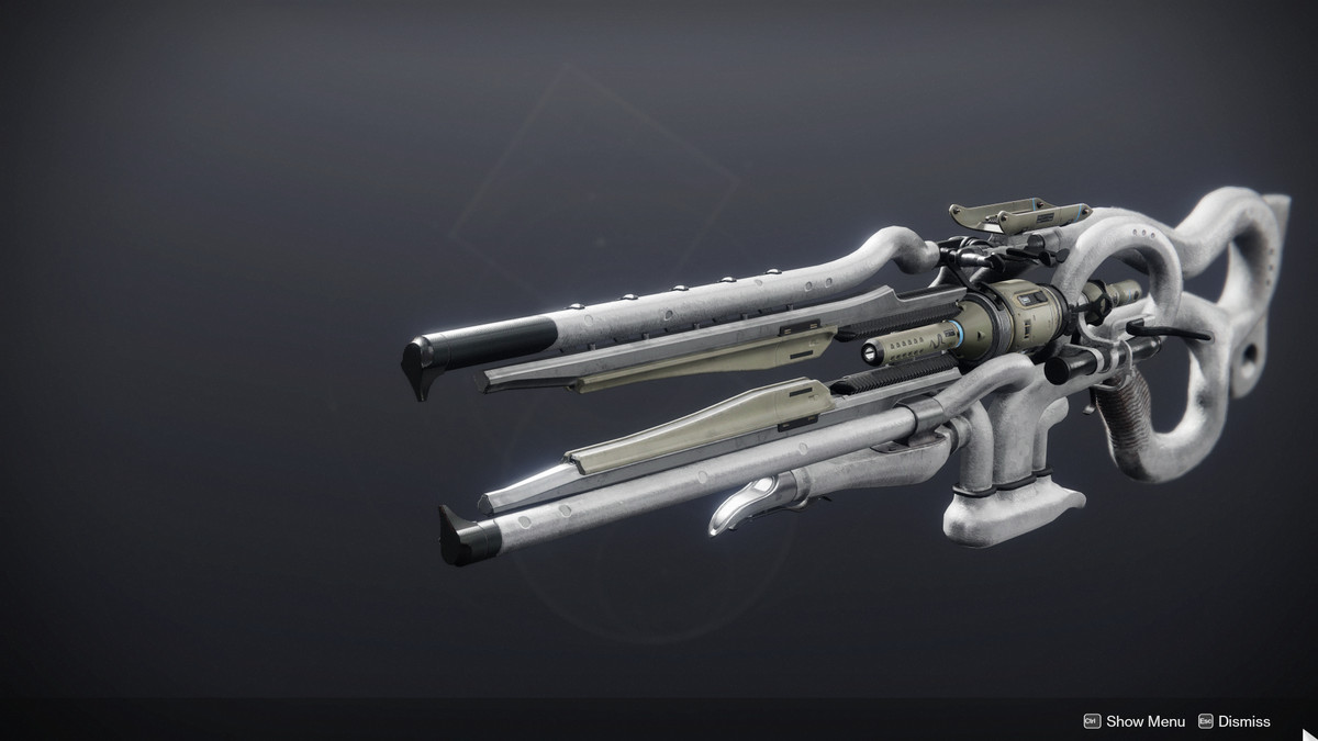 The Eververse ornament for the Ager's Scepter Trace Rifle