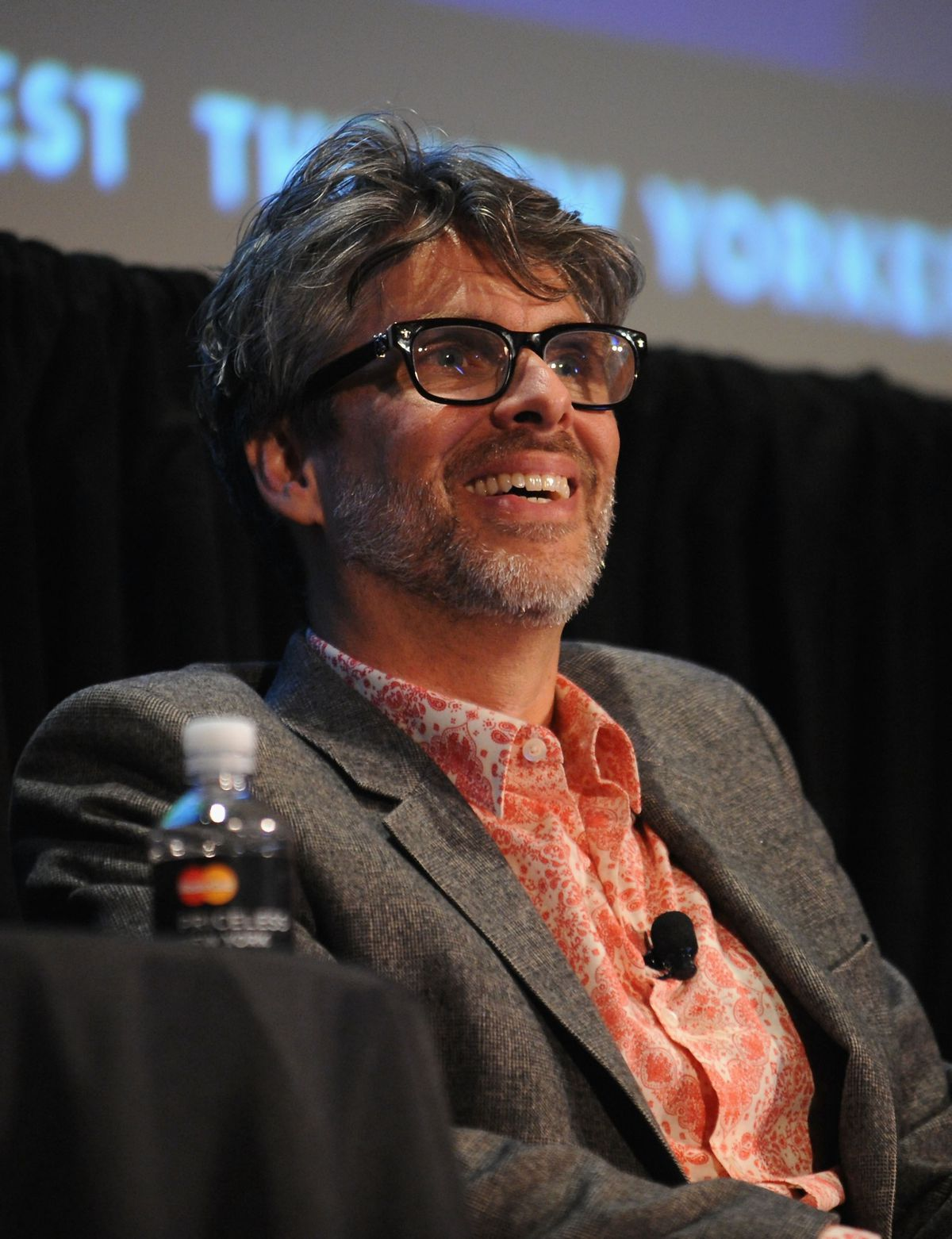 Michael Chabon at The <em>New Yorker Festival in 2014. (GettyImages)</em>