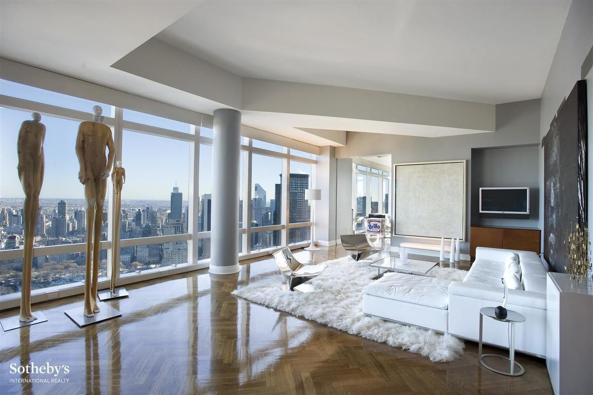 125k time warner center penthouse is now nyc 39 s most for Most expensive penthouse in nyc