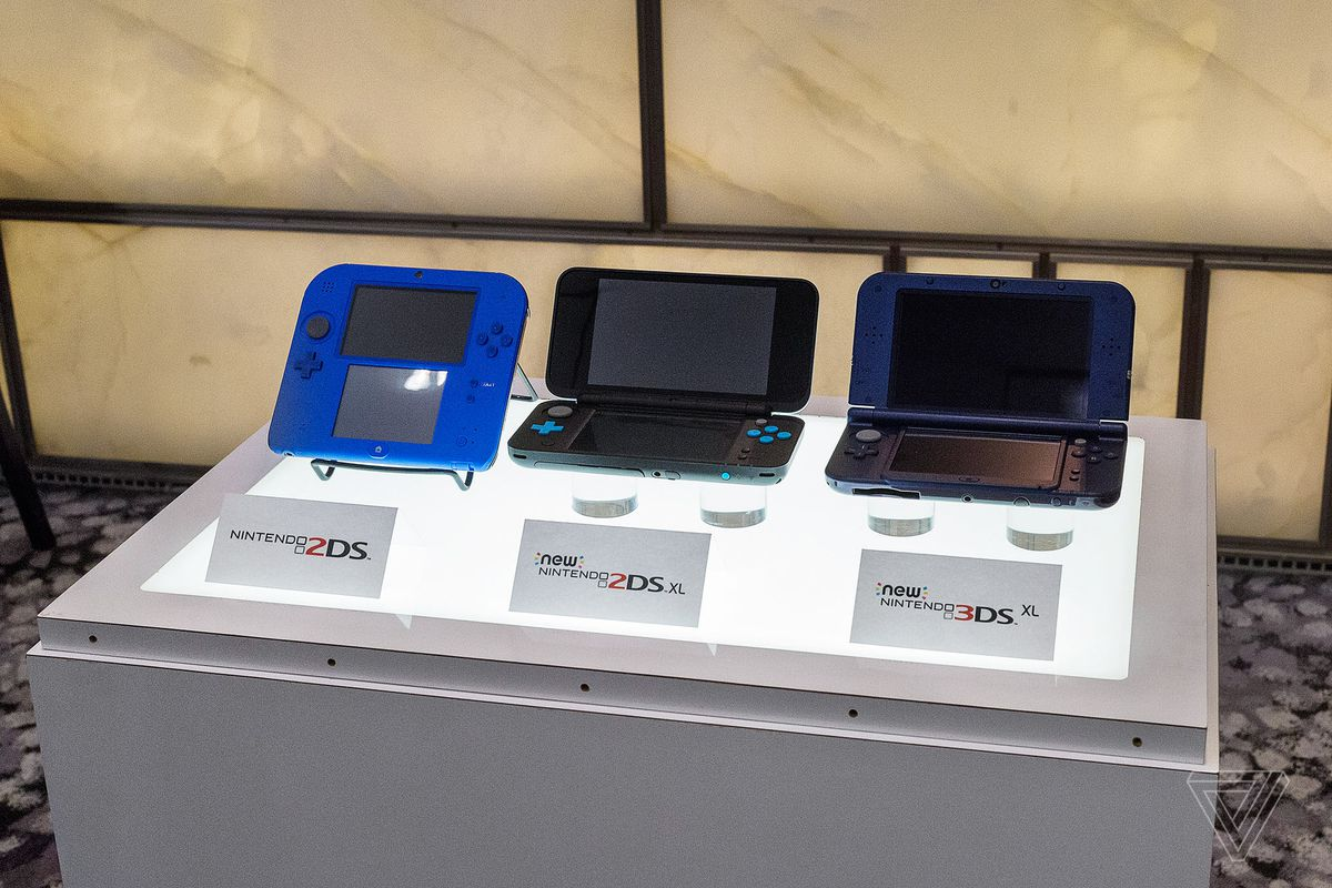 new nintendo 2ds xl hands on this is the 3ds that always should have been the verge. Black Bedroom Furniture Sets. Home Design Ideas