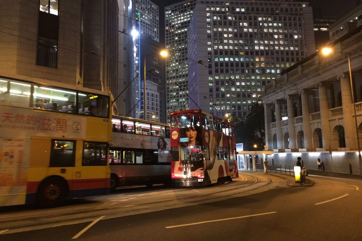 Hong Kong in the halcyon days of 2013