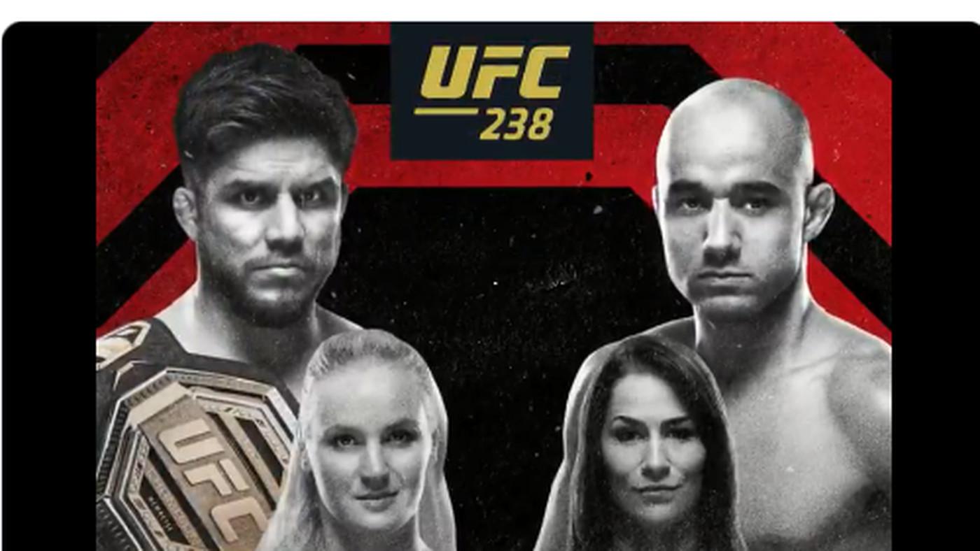 Pic: Official UFC 238 poster drops for 'Cejudo vs Moraes' on June 8 in Chicago