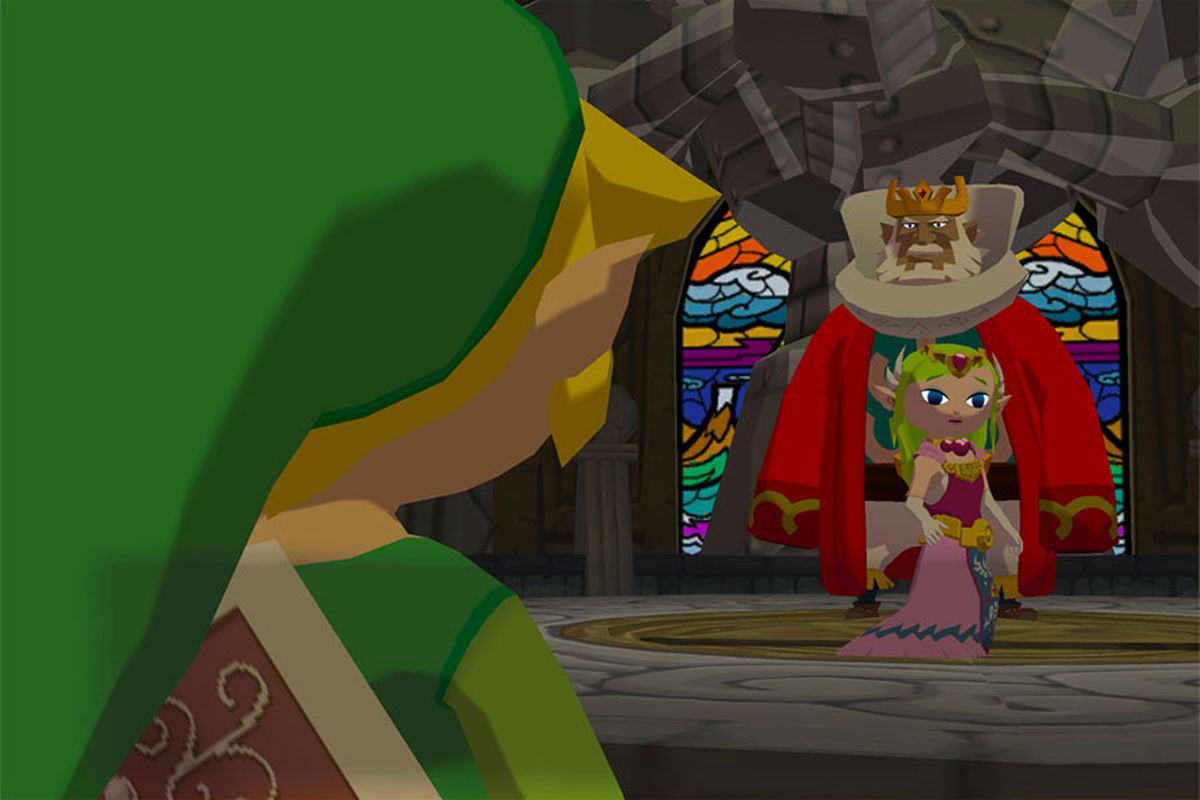 f367ceaec3a Father hacks The Legend of Zelda  The Wind Waker for his young daughter,  making Link a girl