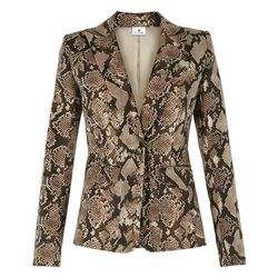 Blazer in Python Print, $49.99 (Available on Net-A-Porter)