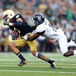 Will Fuller twists away for a 75-yard score.