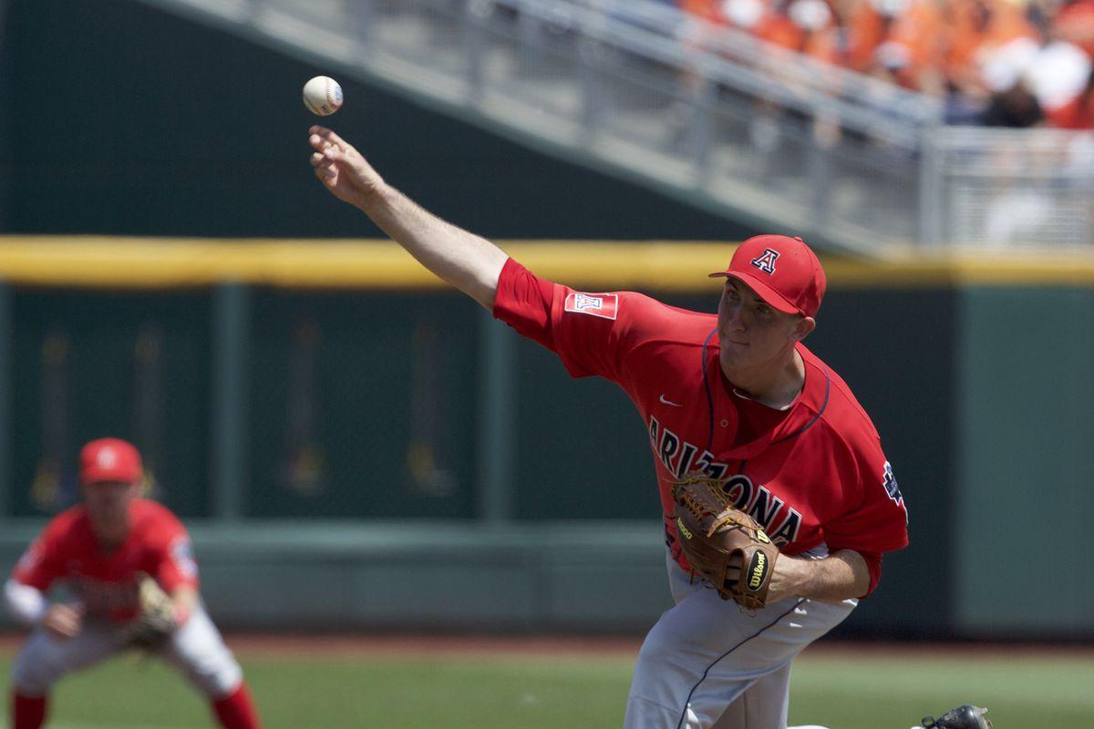 NCAA Baseball: College World Series-Arizona vs Oklahoma State