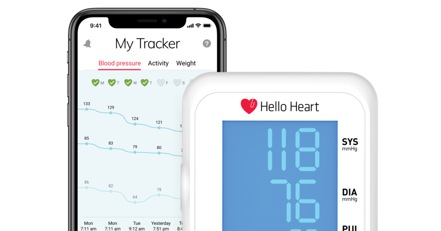 Mobile app helps people manage their blood pressure