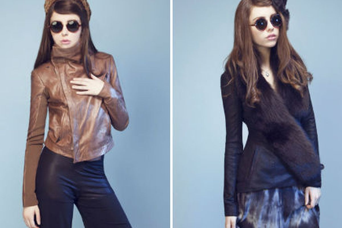 Looks from the Veda Holiday 2011 collection
