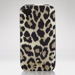 "<strong>Kate Spade</strong> Leopard Ikat iPhone 5 Case, <a href=""http://www.katespade.com/leopard-ikat-iphone-5-case/8ARU0008,en_US,pd.html?dwvar_8ARU0008_color=998&dwvar_8ARU0008_size=UNS&cgid=ks-accessories-tech#start=21&cgid=ks-accessories-tech"">$40</a"