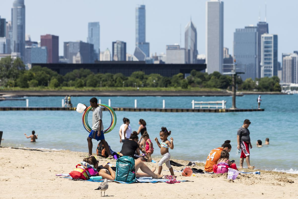 Chicago will open 22 Lake Michigan beaches on Friday.