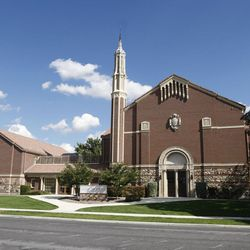 The Granite Stake Tabernacle in Salt Lake City in 2008.