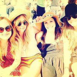 Lauren Conrad and friends