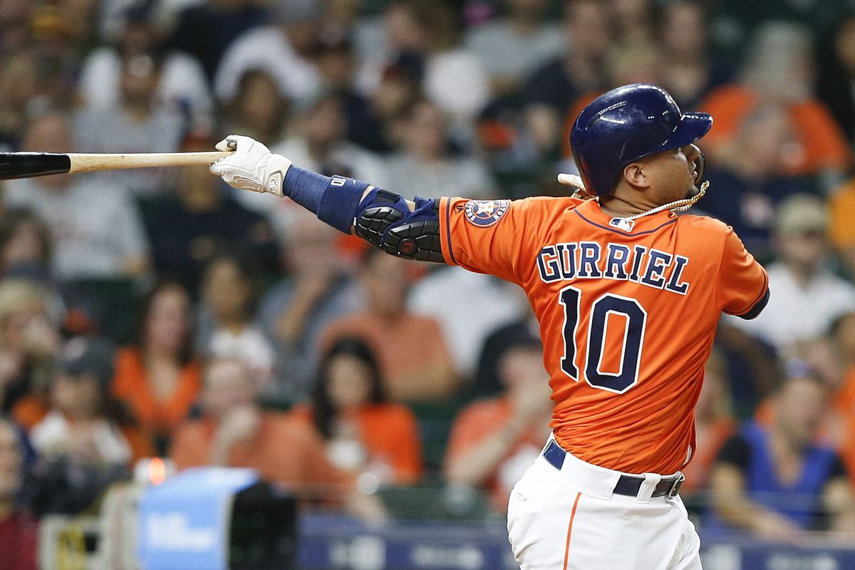 low priced 490f1 8b68e Yuli Gurriel Named AL Player of the Week - The Crawfish Boxes