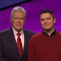 "Brandon Randall, a BYU senior majoring in English will return to ""Jeopardy"" Tuesday night."