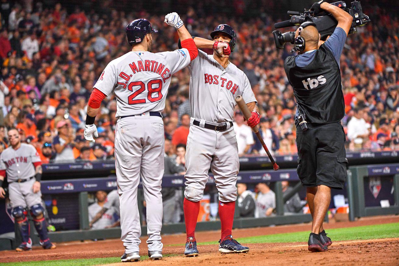 Houston Astros vs Boston Red Sox, 2018 American League Championship Series