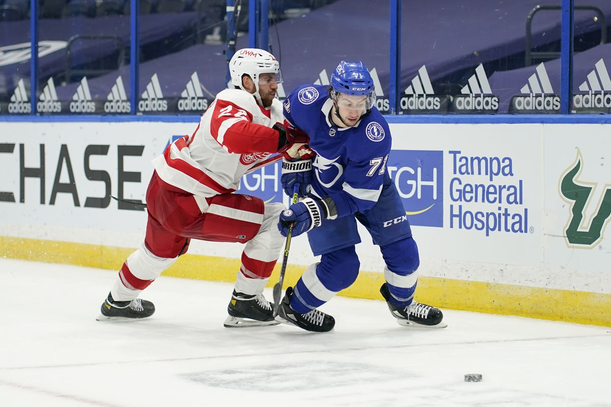 NHL: FEB 03 Red Wings at Lightning