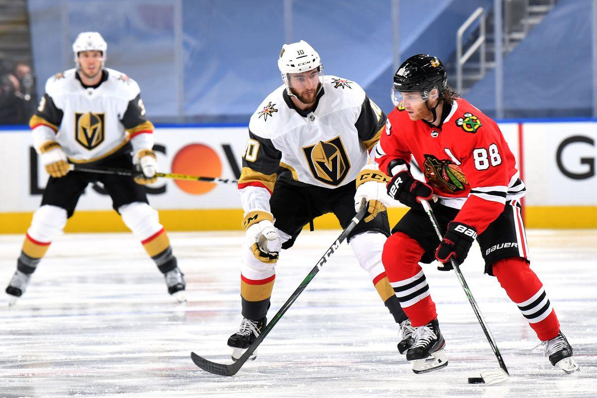 Vegas Golden Knights v Chicago Blackhawks - Game Three