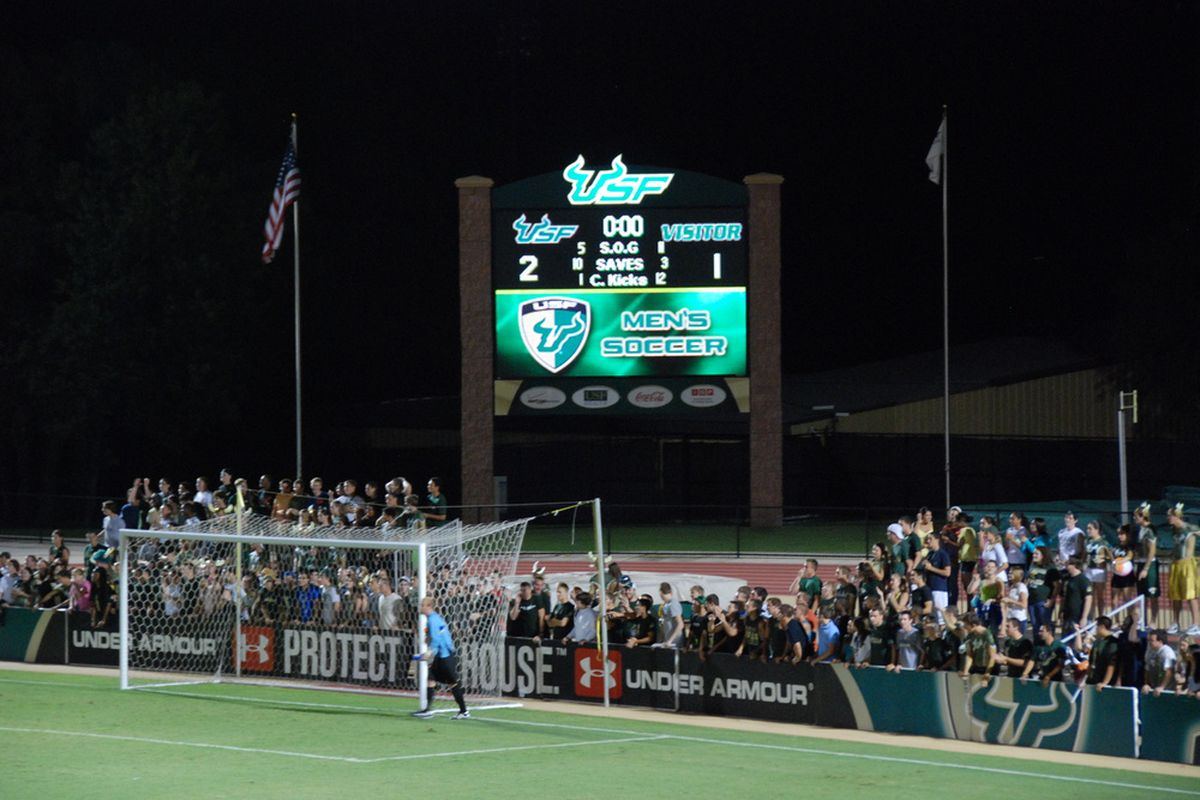 The scoreboard after the match.  Pretty sweet, eh?