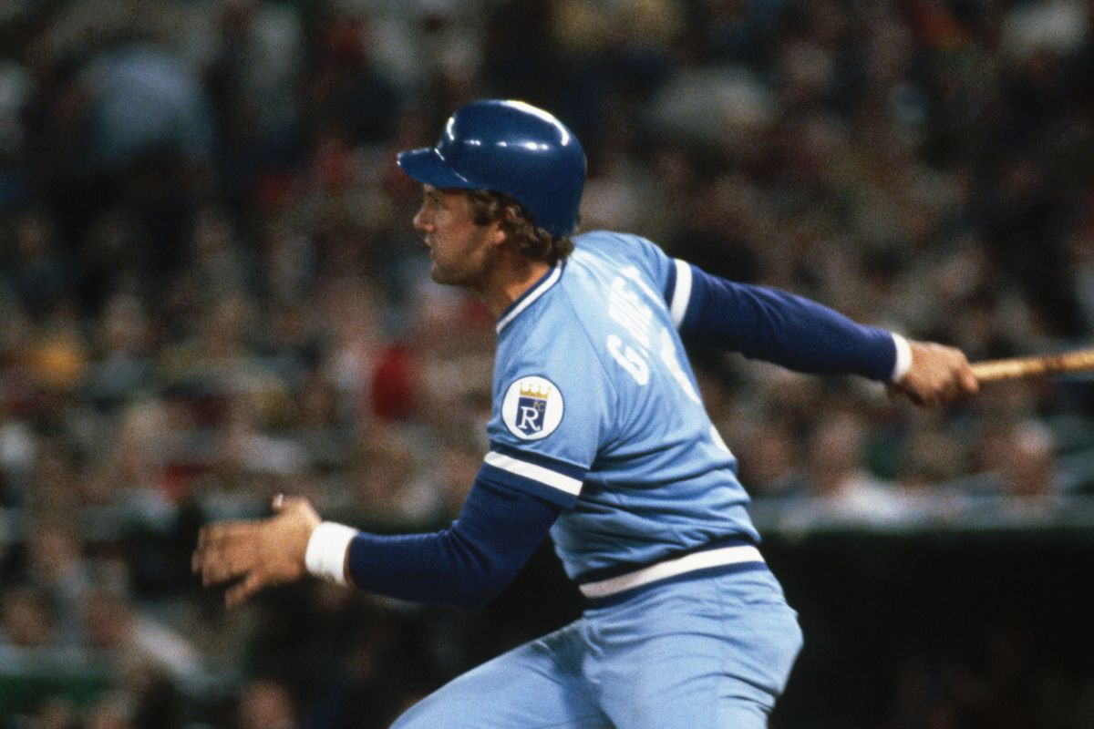 George Brett Playing in the World Series