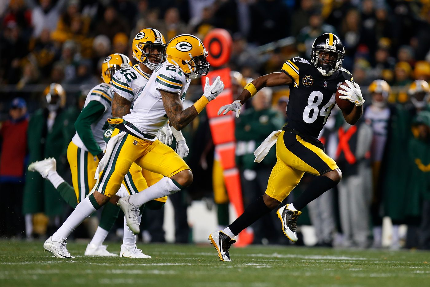 Antonio Brown Is Approaching the NFL's All-Time Receiver