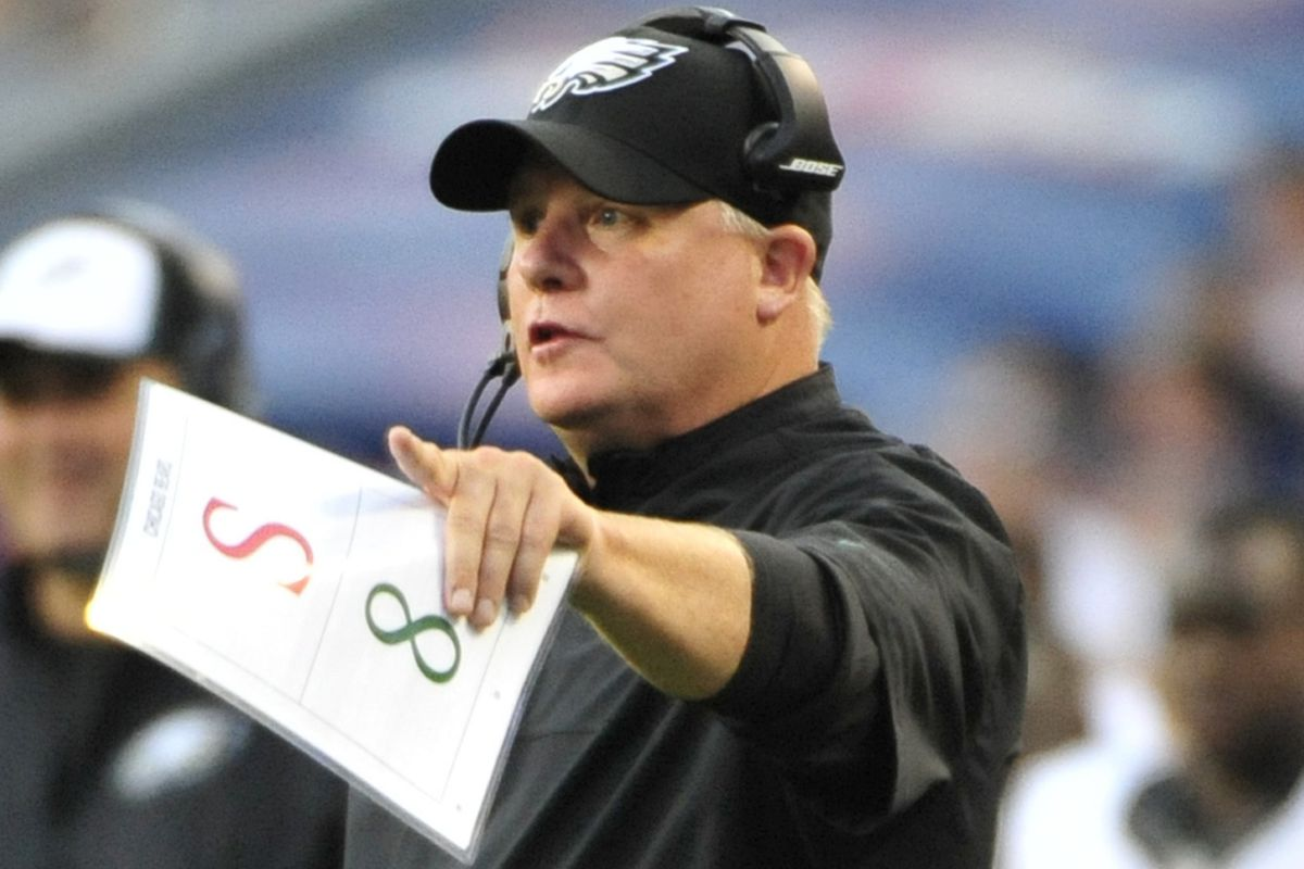 Chip Kelly and his trusty companion, S 8