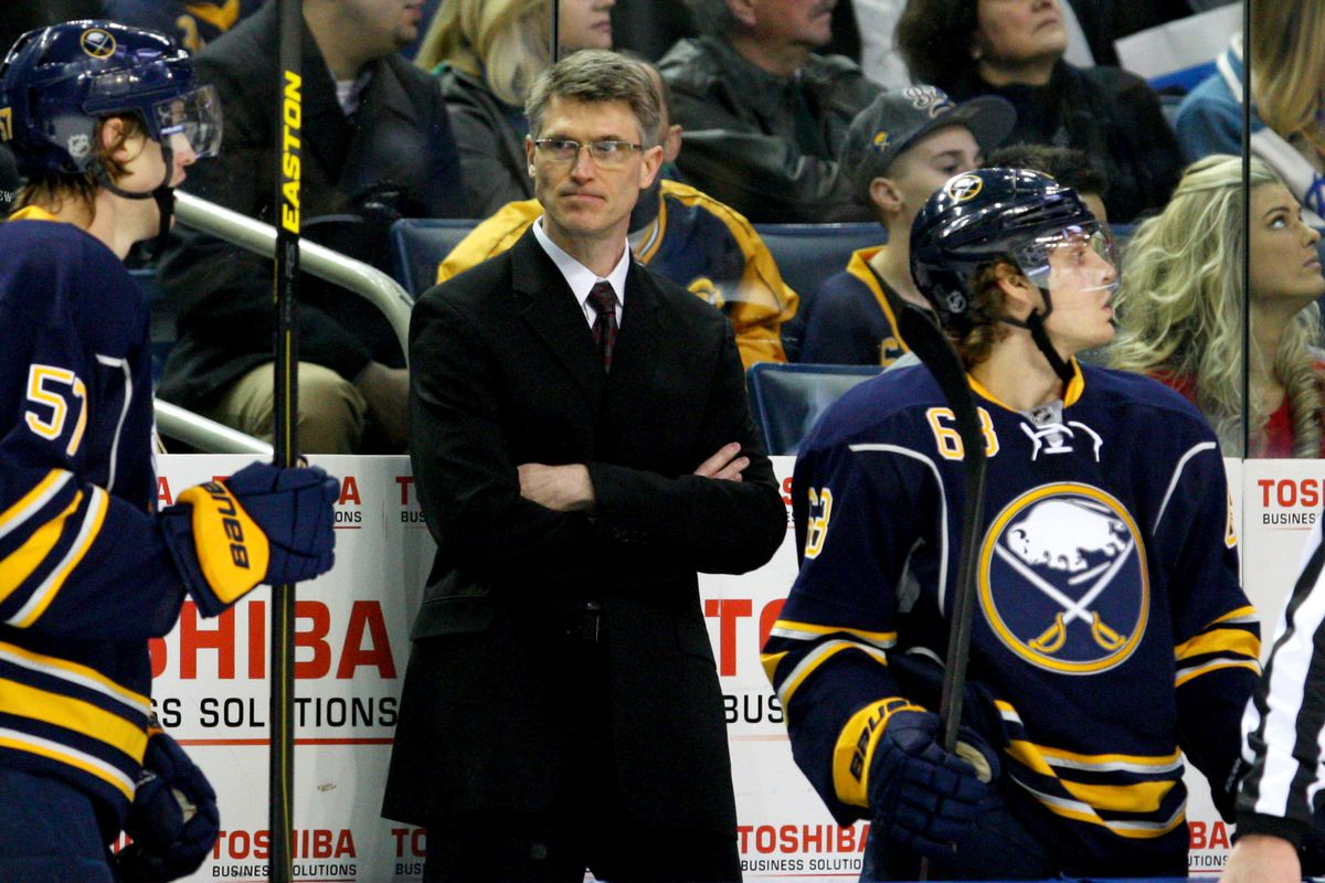 Ron Rolston has been fired by the Buffalo Sabres
