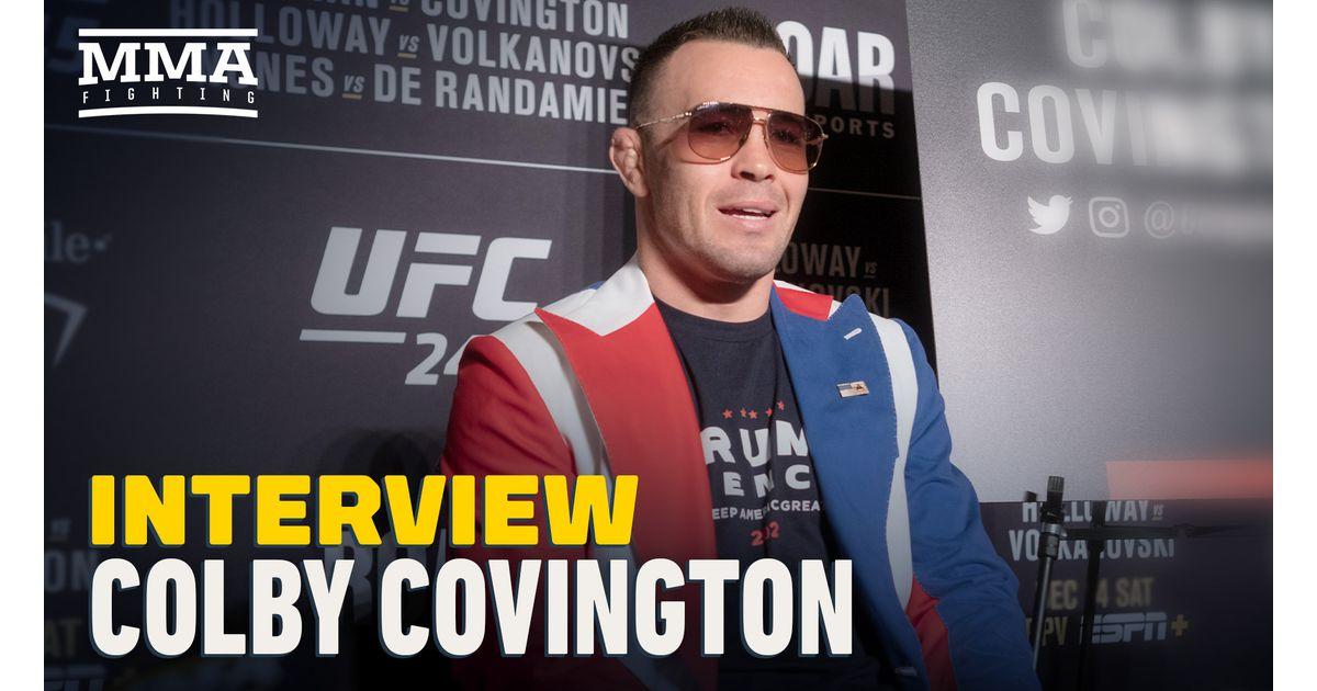 Video: Colby Covington predicts Kamaru Usman 'ragdolls' Jorge Masvidal at UFC 251, eyes rematch in 2020 - MMA Fighting