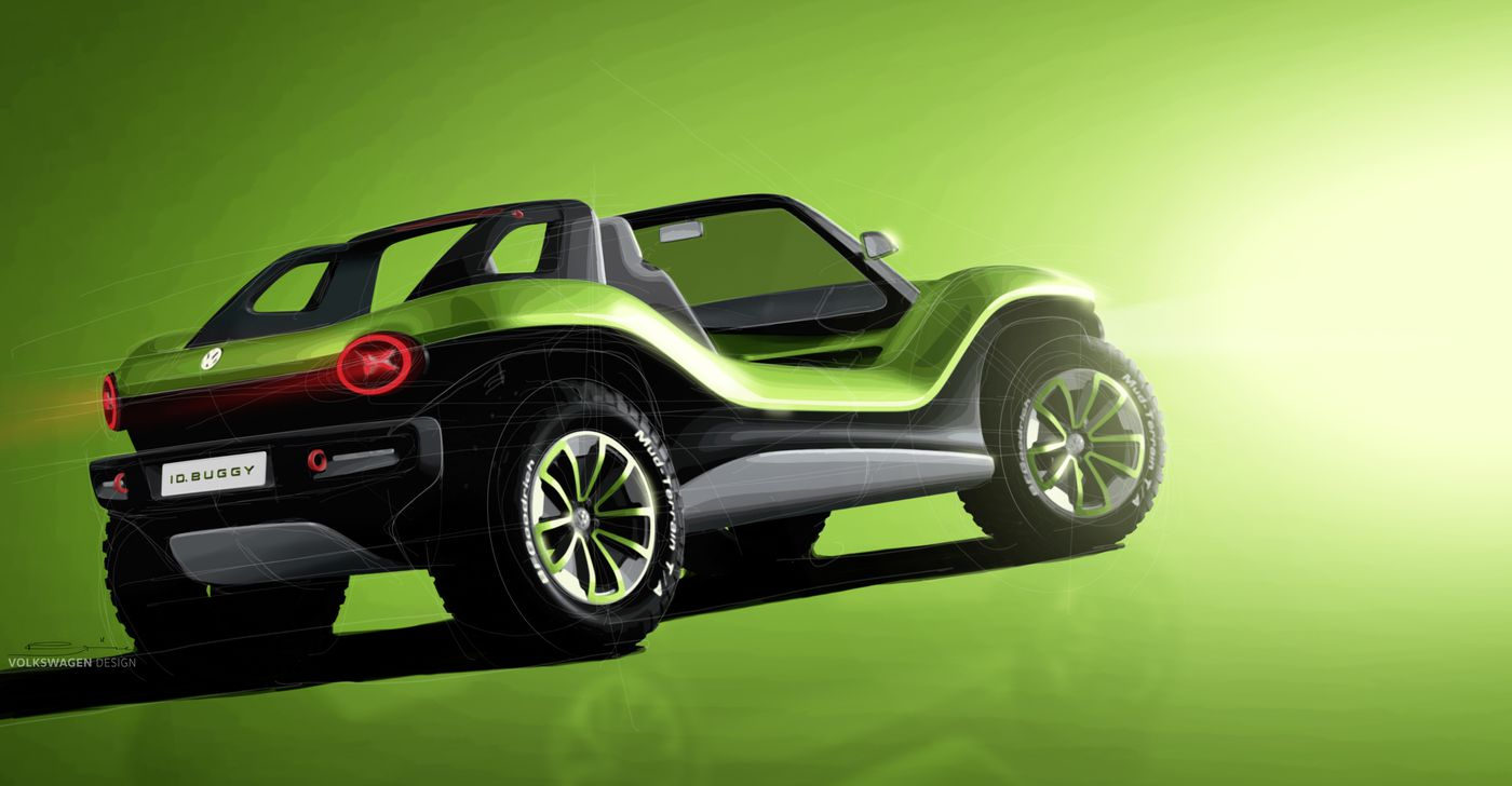 VW's electric dune buggy crams futuristic tech into a retro package