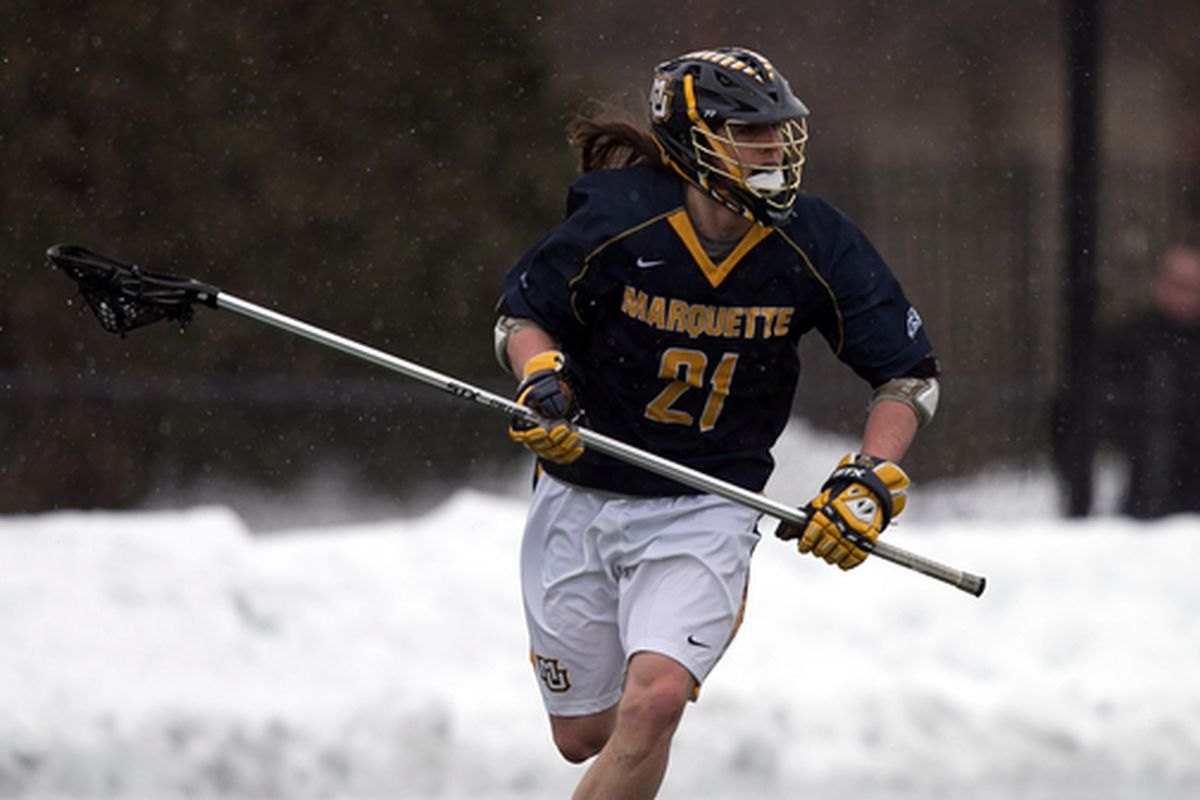 Liam Byrnes earned Marquette's second straight Defensive Player of the Week honors.