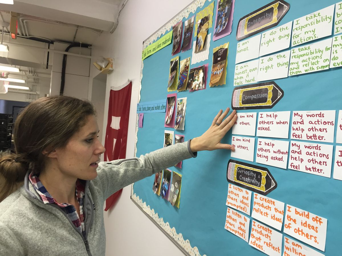 Detroit Prep co-founder and Head of School Jen McMillan explains the school's learning approach that stresses skills like compassion and cooperation.