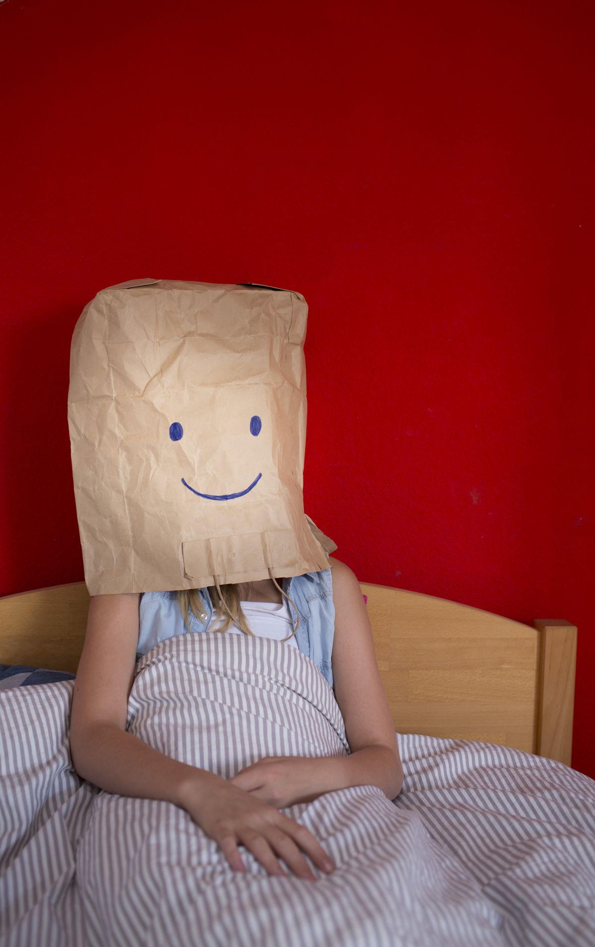 Bag smiley face