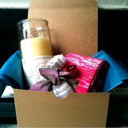 A gift box from Erica Tanov
