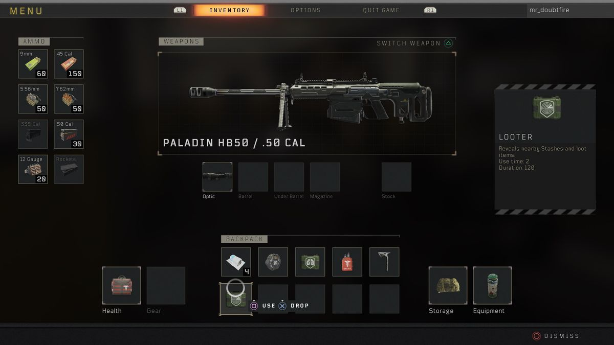 Call of Duty: Black Ops 4 Blackout Paladin HB50