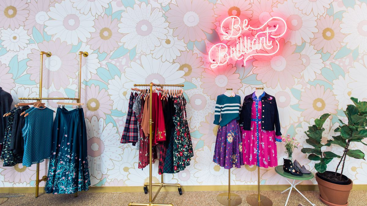8f0cacde745c2 The Internet Goes IRL at ModCloth's New Store - Racked