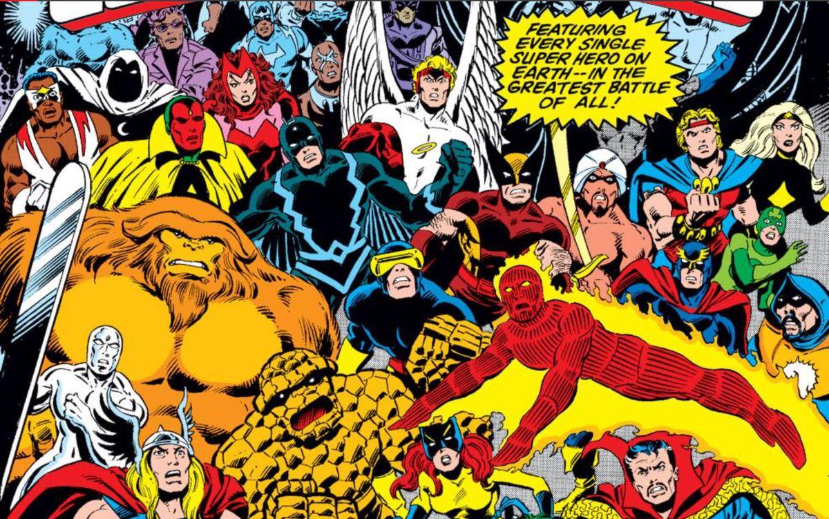 Marvel Mountainous Hero Contest of Champions #1, Marvel Comics (1982).