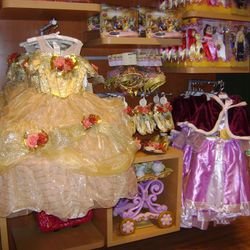 The limited-edition Belle dress is huge