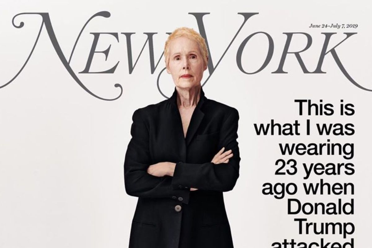 Trump on E  Jean Carroll's dressing room rape allegation: 'Never