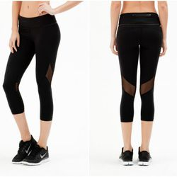 """<b>Nicola Fumo, Racked Market Editor</b>: """"Never, ever did I think I'd describe a pair of capris as 'sexy,' but <b>Alala's</b> <a href=""""http://alalastyle.com/products/captain-crop-tight"""">Captain Crop Tight</a> ($105) make the case with sheer panels (sweet"""