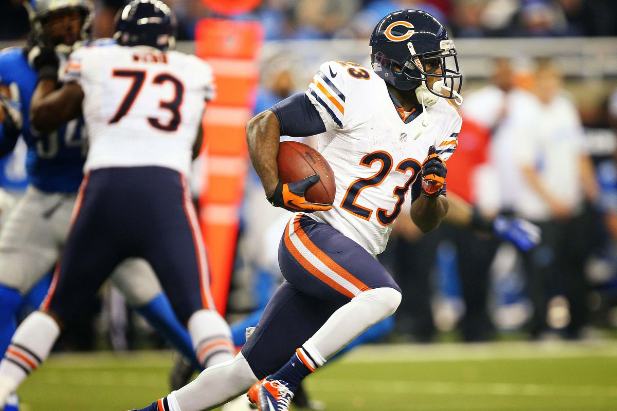 huge discount 8a642 c8941 Chicago Bears 2013 training camp: Chasing Devin Hester ...
