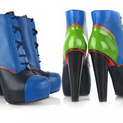 """<strong>Versace Ankle Boots.</strong> We admit, it's sort of an arbitrary choice. Versace isn't exactly known for subtlety or versatility, these shoes veer too close to ClownTown for our comfort. Available at <a href=""""http://www.net-a-porter.com/product/7"""
