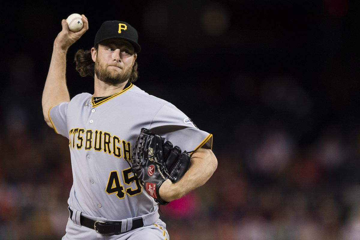Yankees 'working on deal' to acquire Gerrit Cole from Pirates