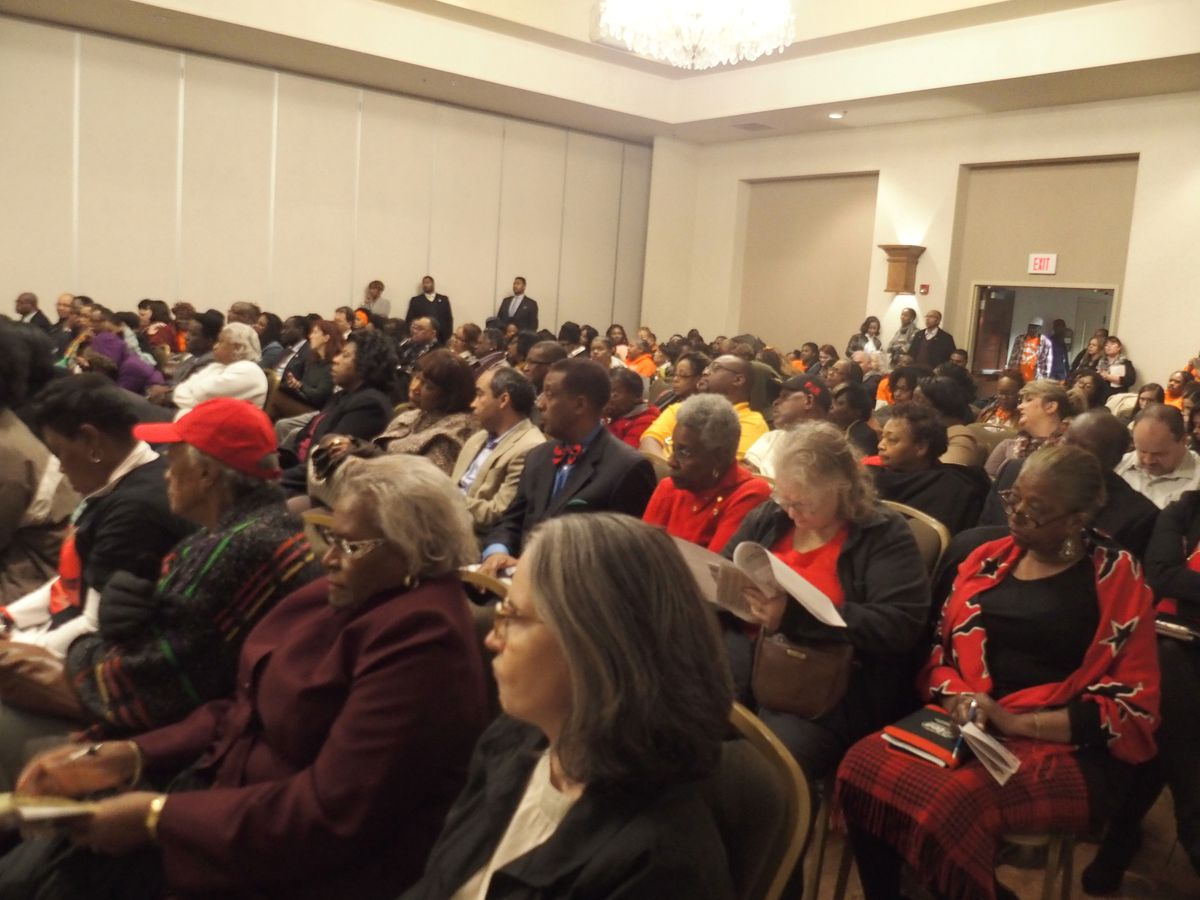 About 200 people attended this week's hearing in Memphis.