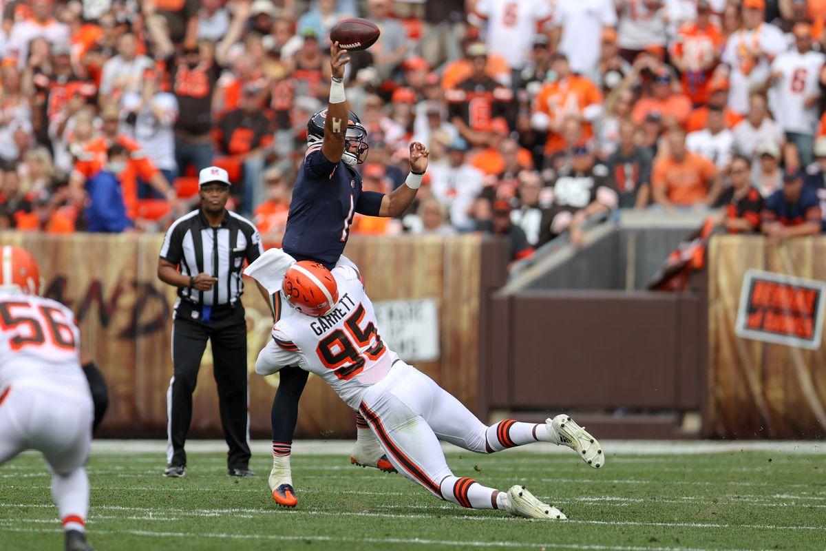 NFL: SEP 26 Bears at Browns