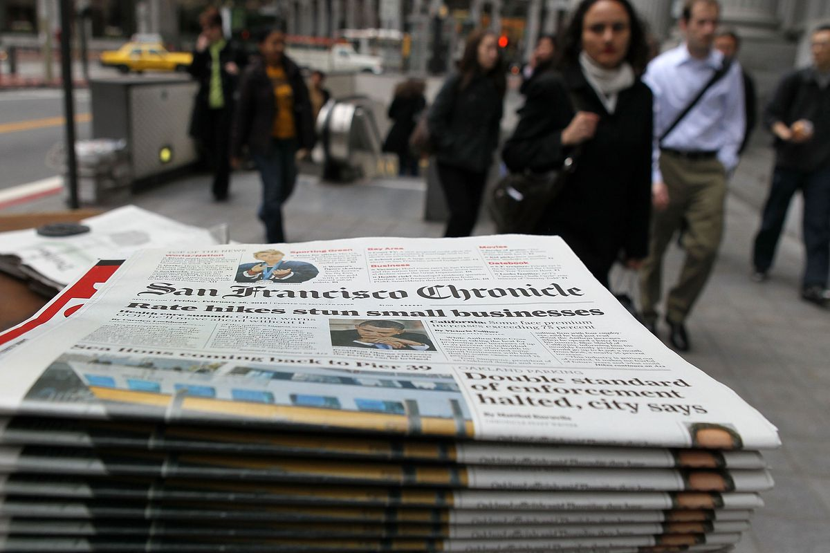 Long-Time San Francisco Newsstand Falls Prey To Economic Hard Times