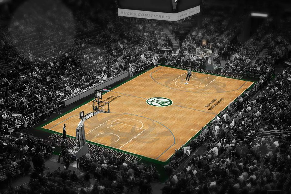 Bucks unveil alternate uniform and court at Fan Fest - Brew Hoop aad45a3fe